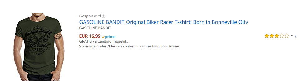 Sponsorder product ads